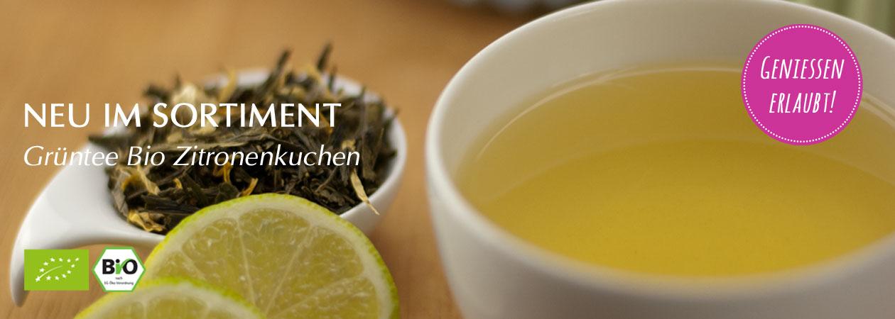 Bio Zitronenkuchen Tee: Genussvoller Grüntee