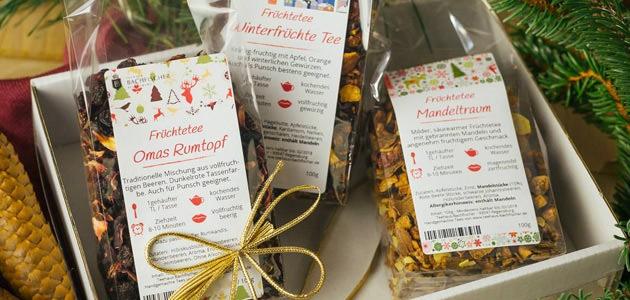 Weihnachtsgeschenke Für Firmenkunden.Tee Geschenke Firmenkunden Teehaus Bachfischer