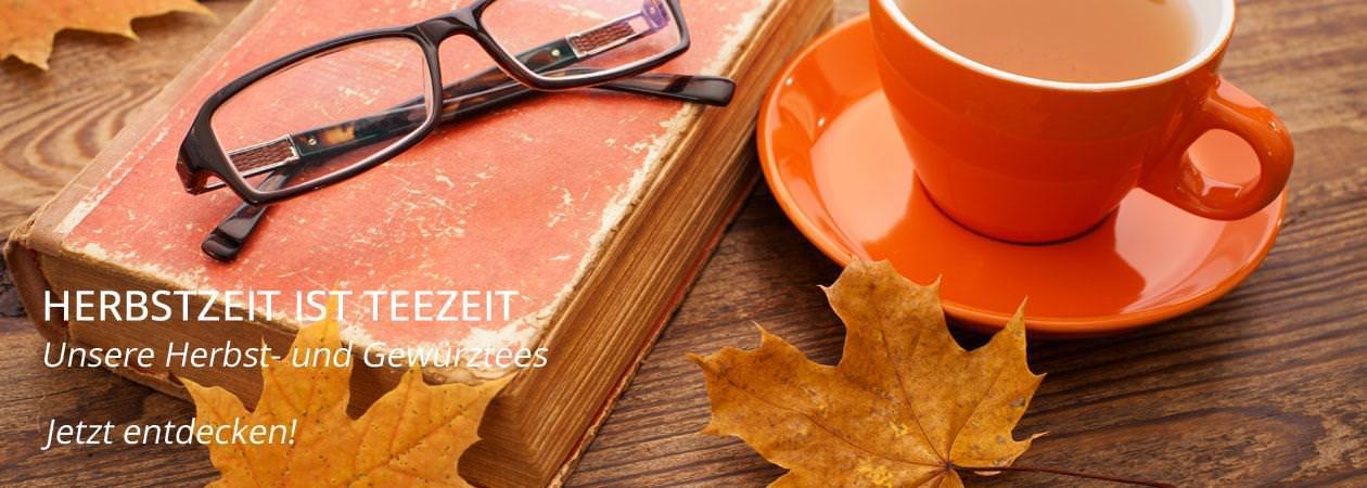 Herbsttee und Gewürztee